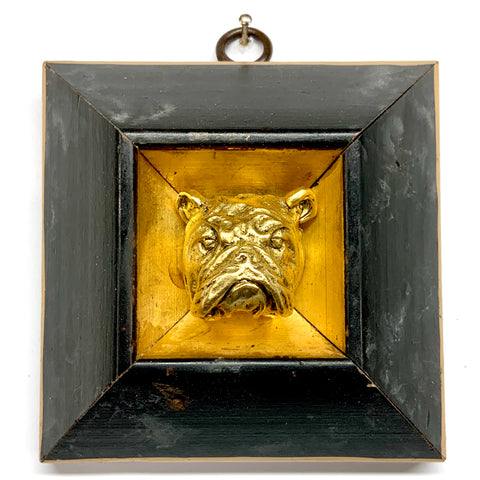Lacquered Frame with Bulldog (3.75