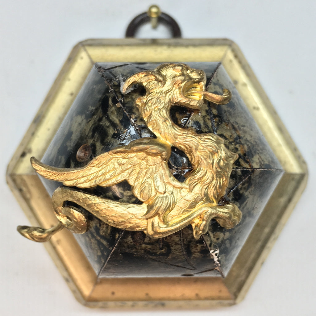 Marbled Frame with Dragon (2.75