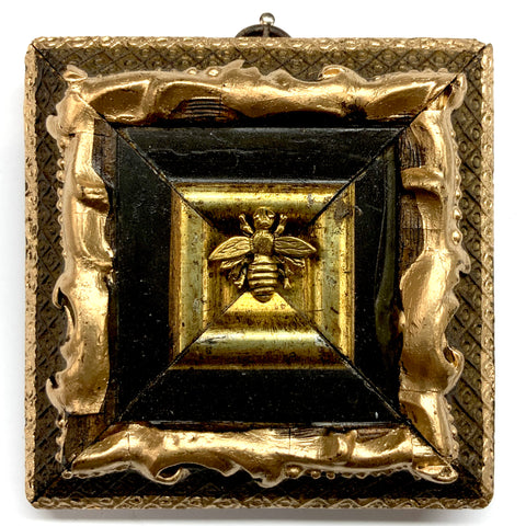 Painted Frame with Napoleonic Bee (3.75