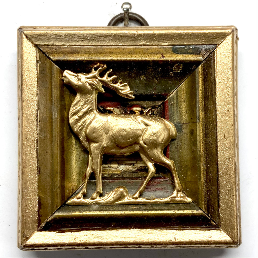 Gilt Frame with Stag (2.75