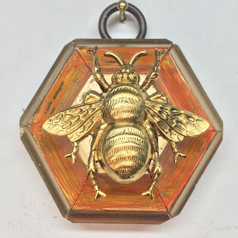 Painted Frame with Grande Bee (2.25