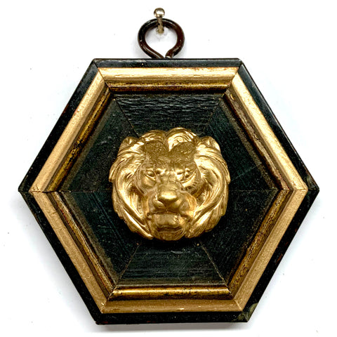 Lacquered Frame with Lion (3.5