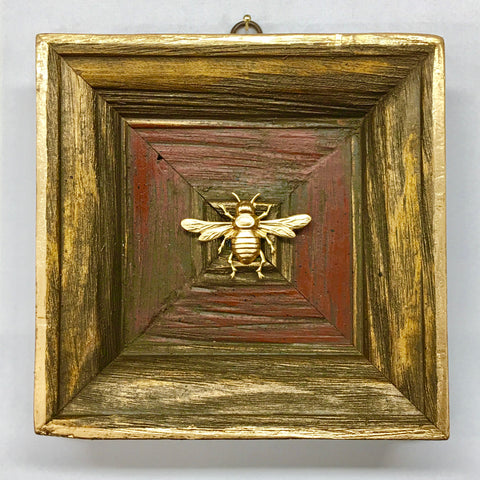 Wooden Frame with Italian Bee (6.5