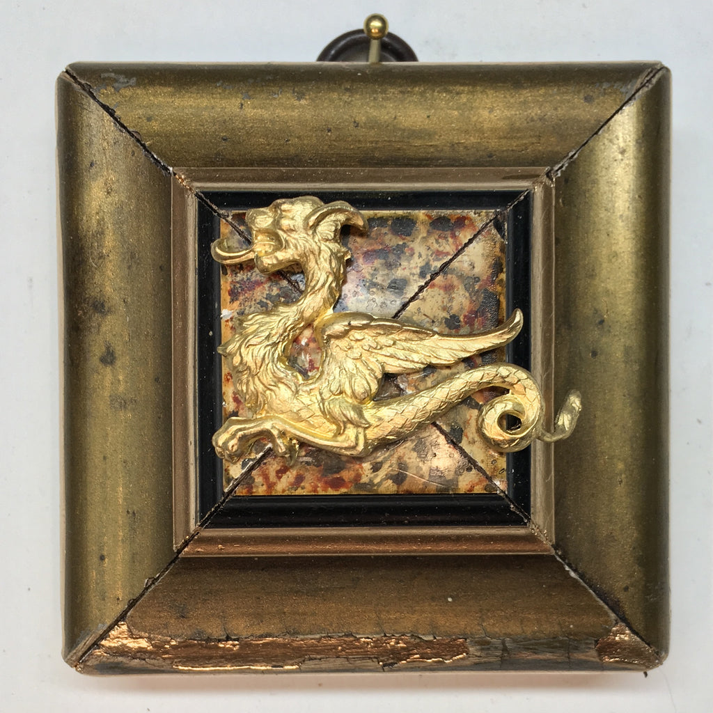 Gilt Painted Frame with Dragon (3
