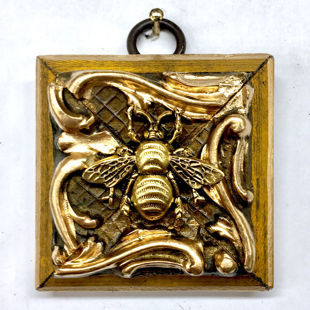 Gilt Frame with Grande Bee (2.25