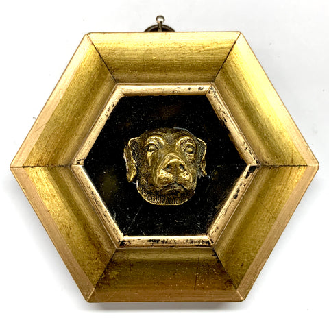 Gilt Frame with Dog (4.25