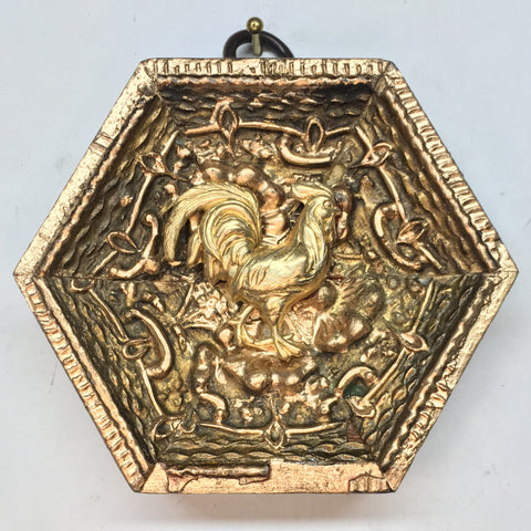 Gilt Frame with Rooster (3.25