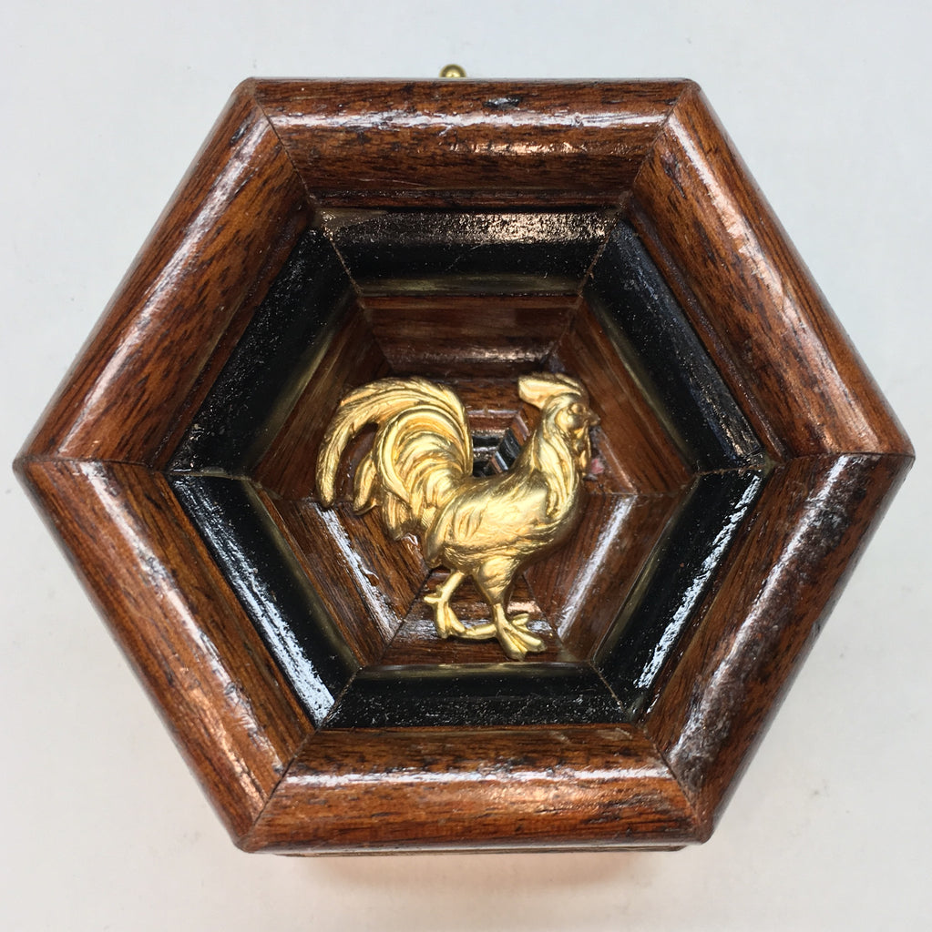 Wooden Frame with Rooster (3.5