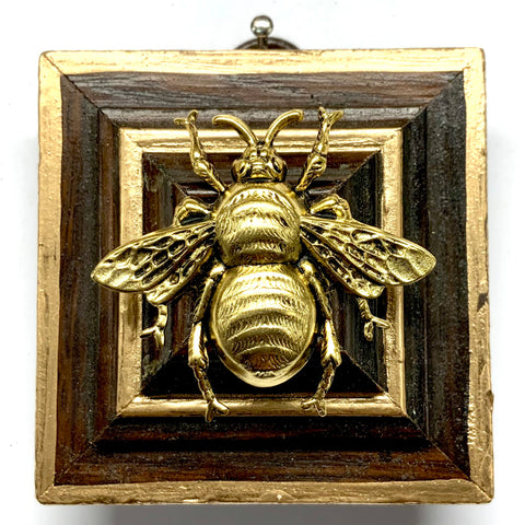 Wooden Frame with Grande Bee (2.5