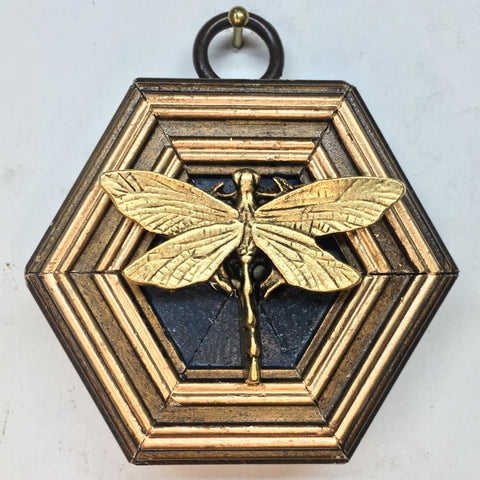 Gilt Frame with Dragonfly (2.5