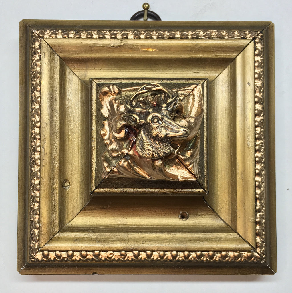 Gilt Frame with Stag (4.25