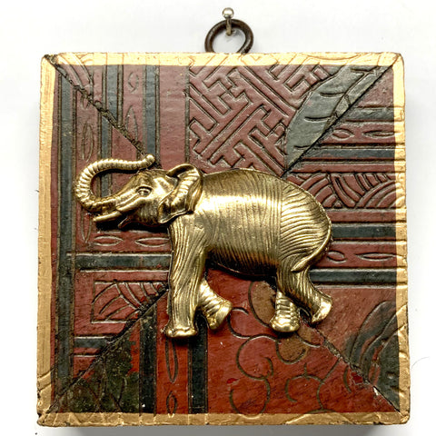 Coromandel Frame with Elephant (3.75