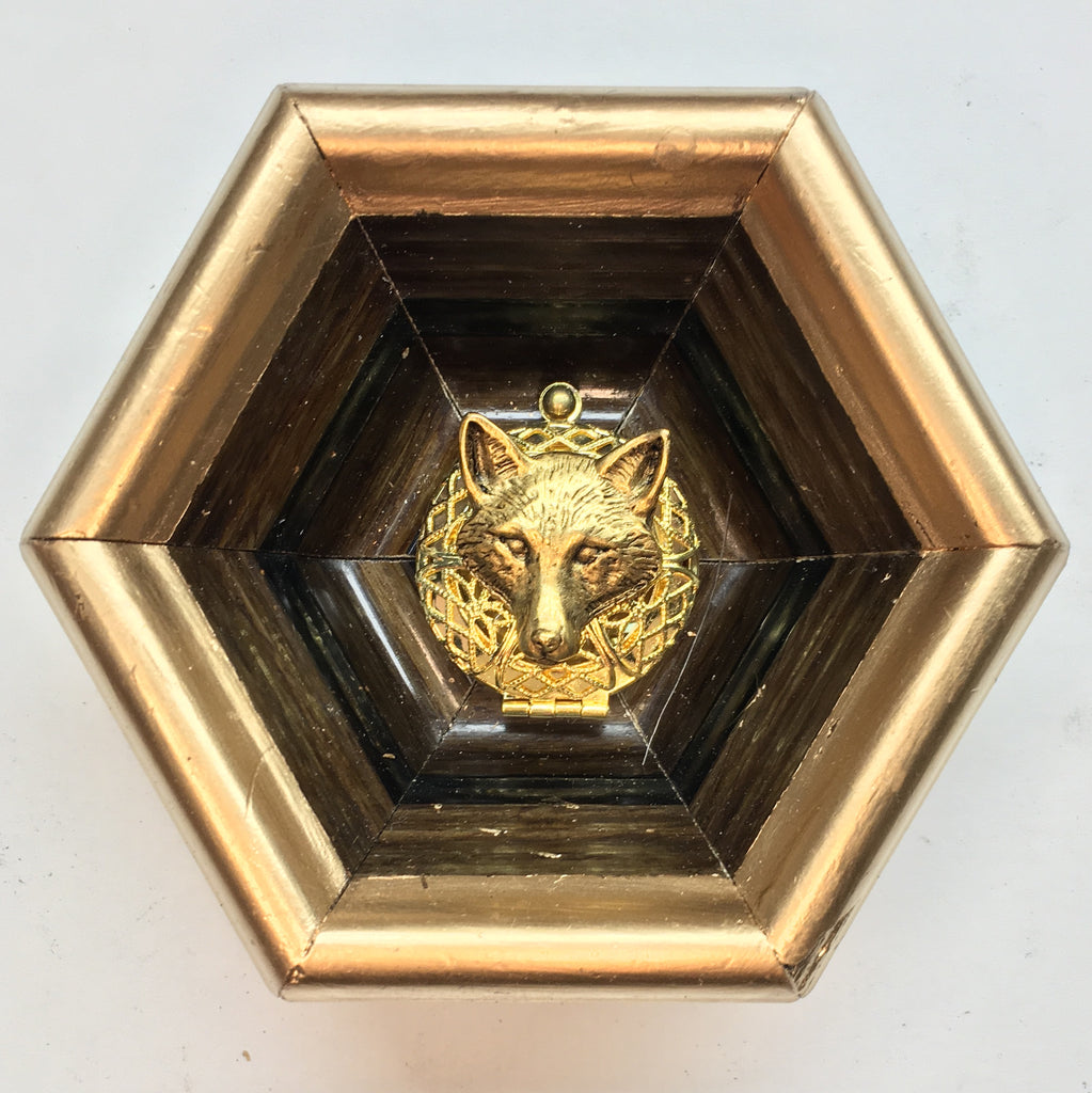 Gilt Frame with Fox (3.5