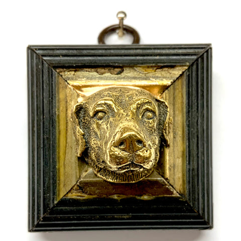 Lacquered Frame with Dog (2.25