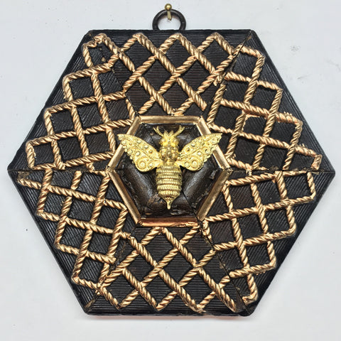 Gilt Frame with Victorian Bee (5.5