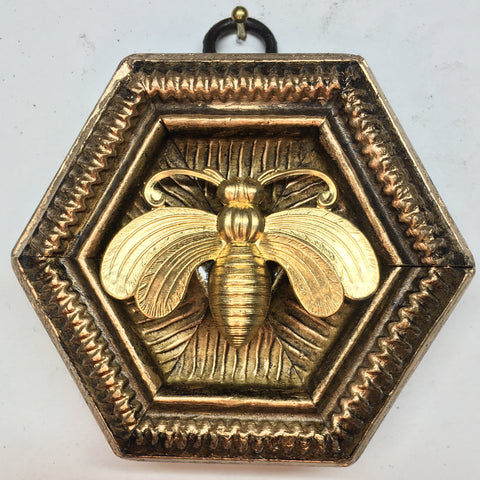 Gilt Frame with Deco Bee (3.25