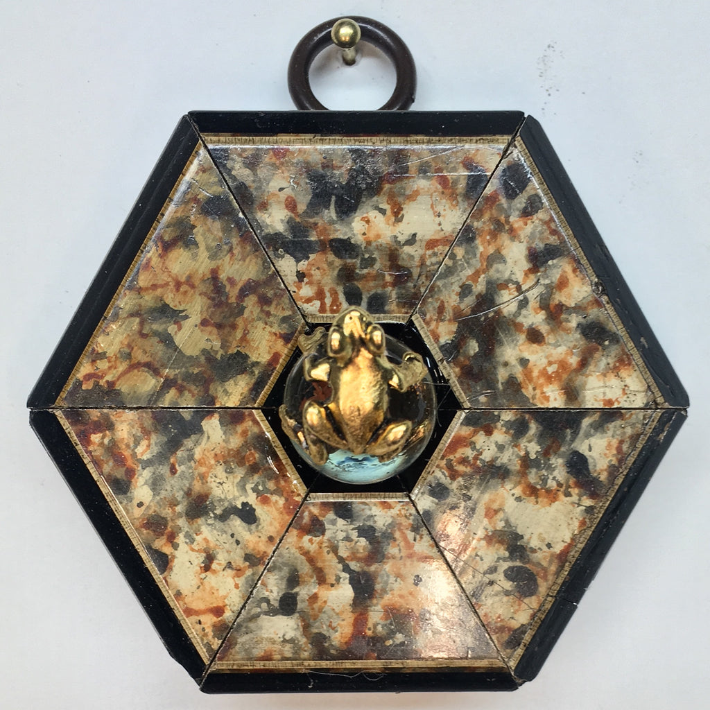 Marbled Frame with Frog (2.75