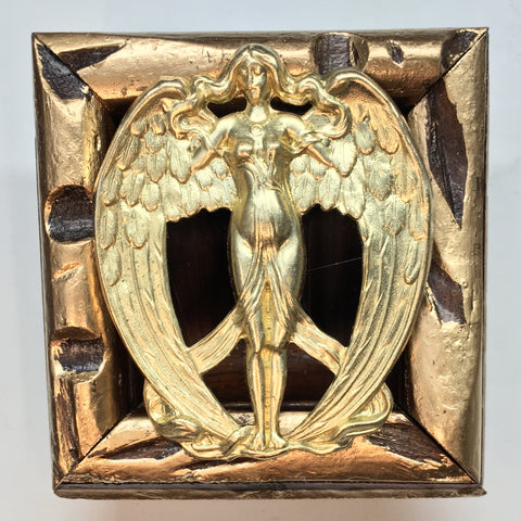 Gilt Frame with Angel (3