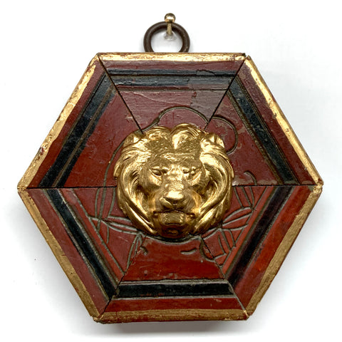 Coromandel Frame with Lion (3.25