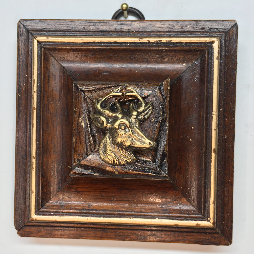 Wooden Frame with Stag (3.5
