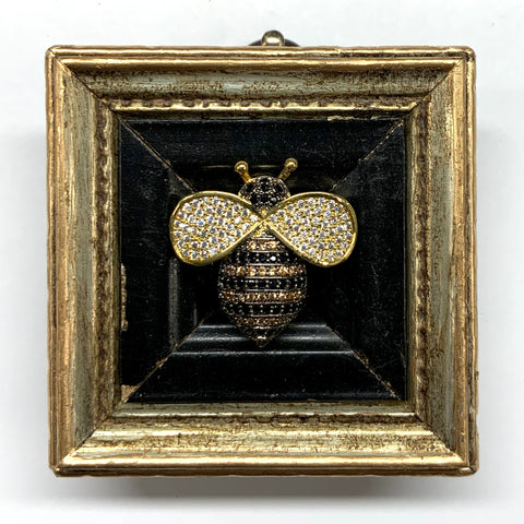 Gilt Frame with Sparkle Bee (2.25