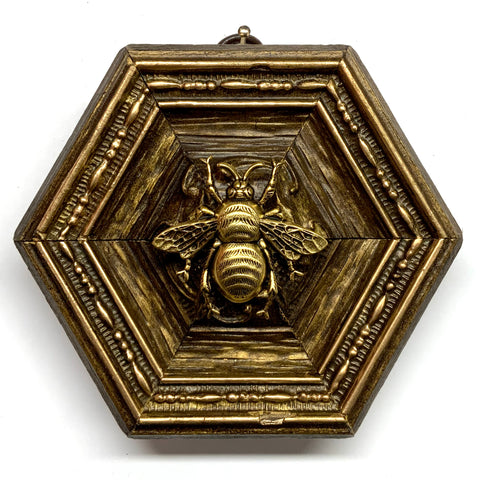 Gilt Frame with Grande Bee (4.75