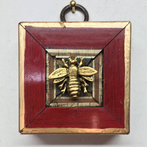 Lacquered Frame with Napoleonic Bee (2