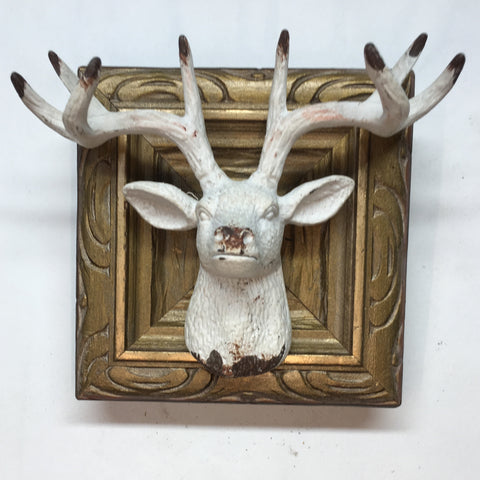Gilt Frame with Stag Head (3.5