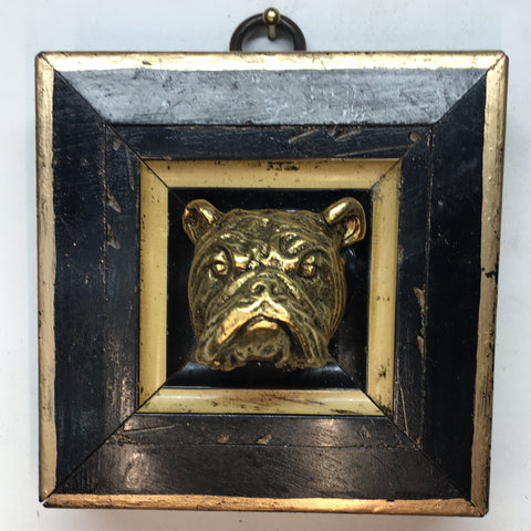 Lacquered Frame with Bulldog (3