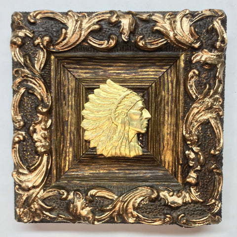 Gilt Frame with Chief (5