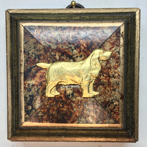 Marbled Frame with Dog (3