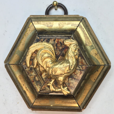 Gilt Frame with Rooster (2.75