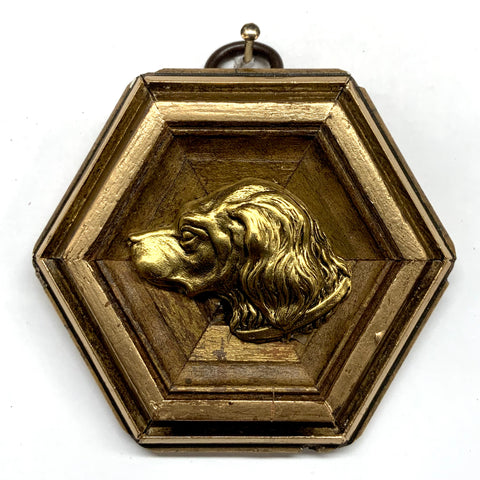 Gilt Frame with Handsome Dog (2.75