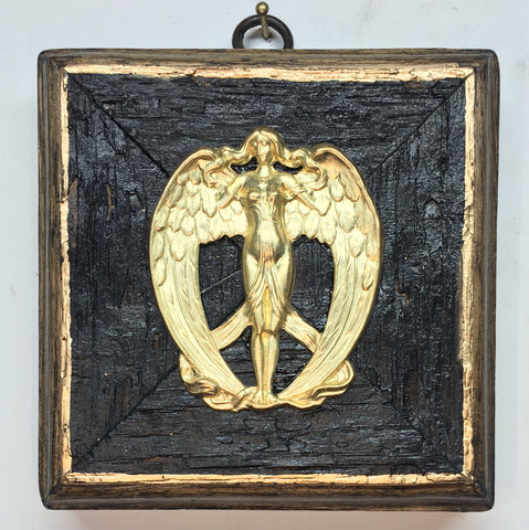 Bourbon Barrel Frame with Angel (4