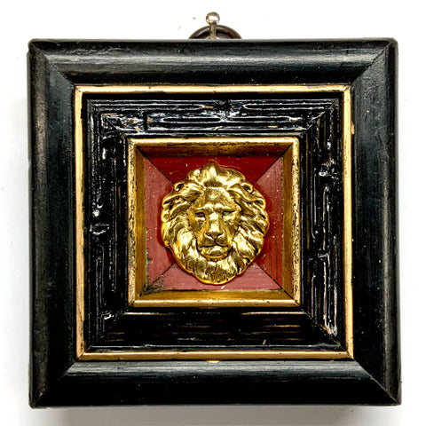Lacquered Frame with Lion (3.25