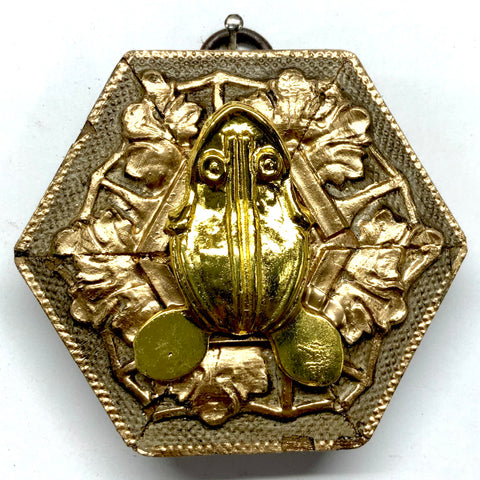 Gilt Frame with Frog (3