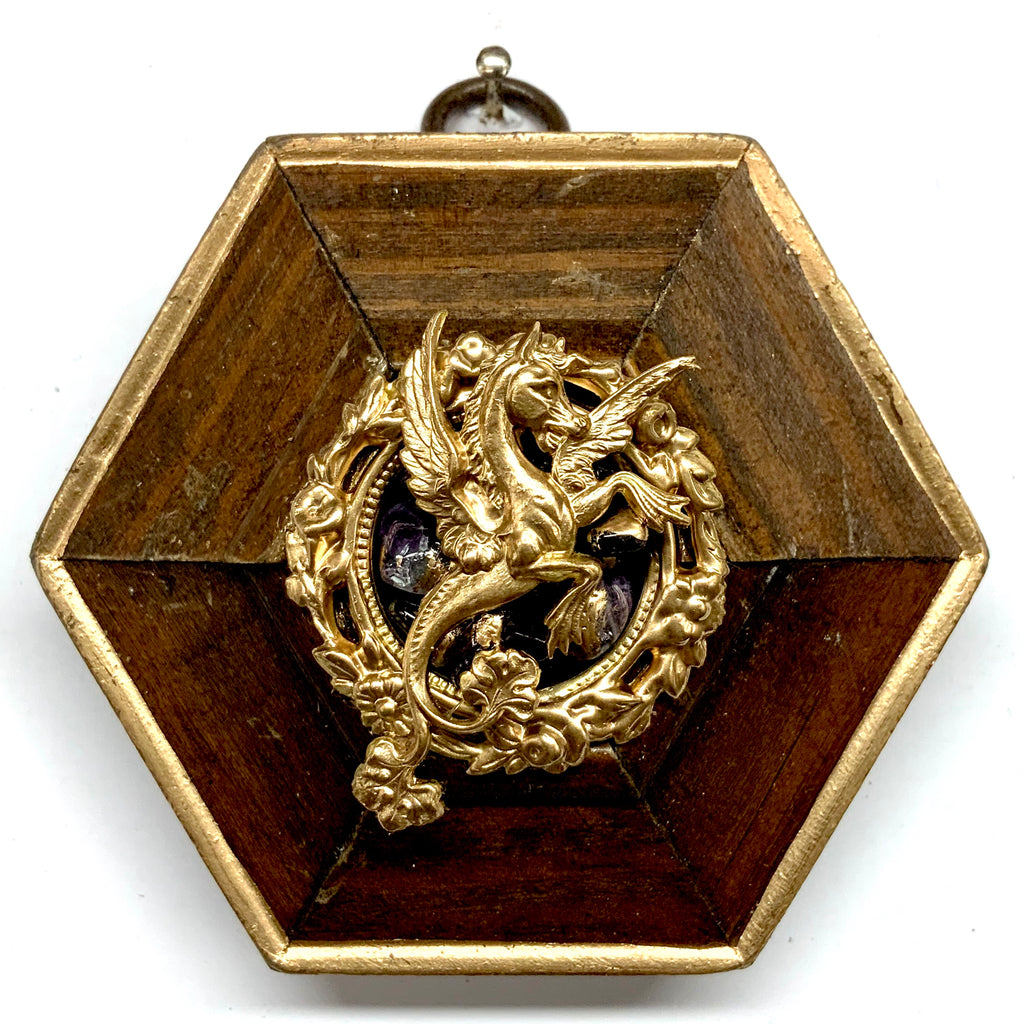 Wooden Frame with Dragon (3.25