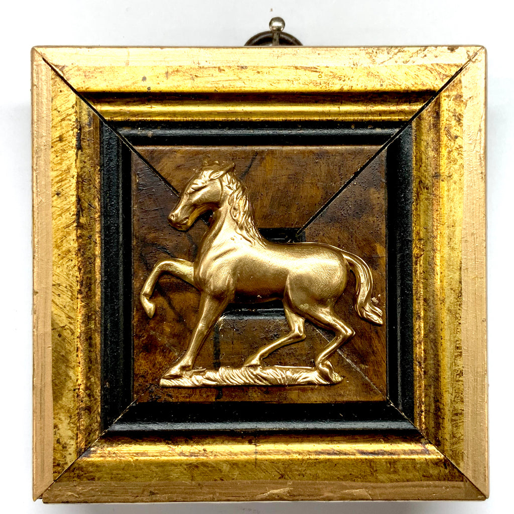 Gilt Frame with Horse (3.5