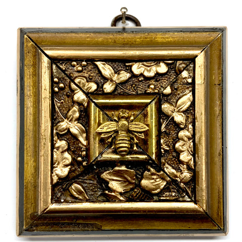 Lacquered Frame with Napoleonic Bee (3.75