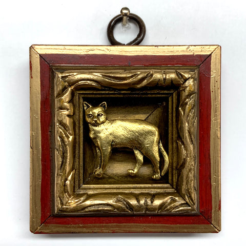 Lacquered Frame with Cat (2.5