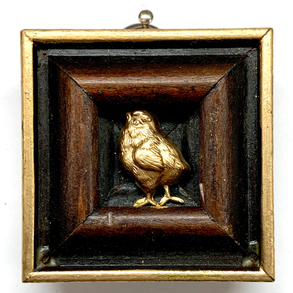 Wooden Frame with Chick (2