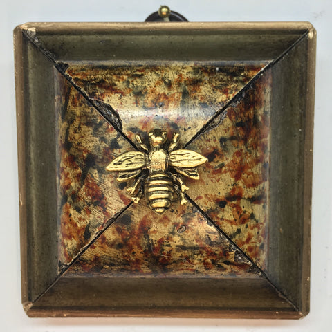 Marbled Frame with Napoleonic Bee (3