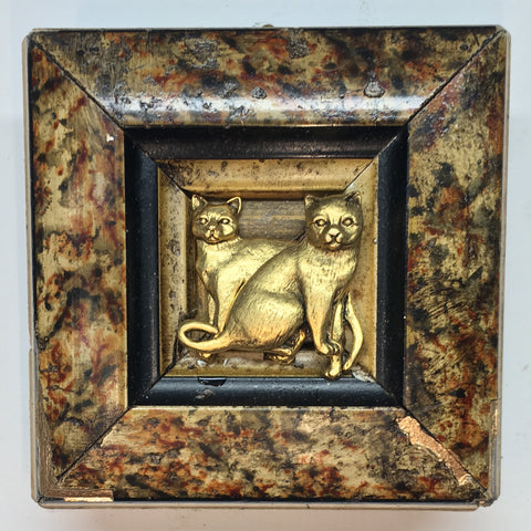 Marbled Frame with Cats (3