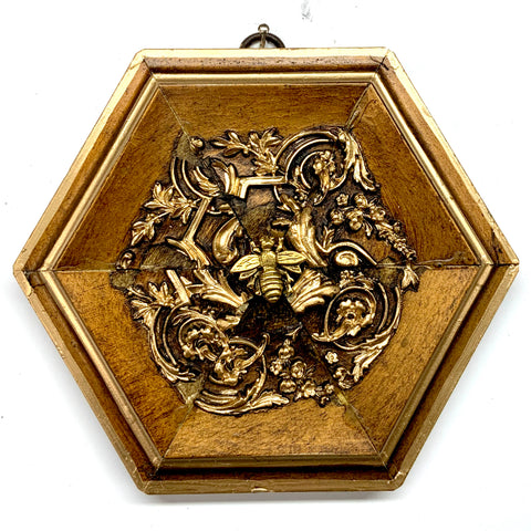 Gilt Frame with Napoleonic Bee (5.75