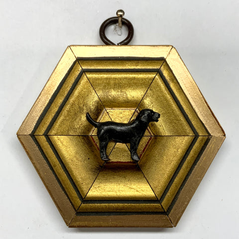 Gilt Frame with Labrador (3.25