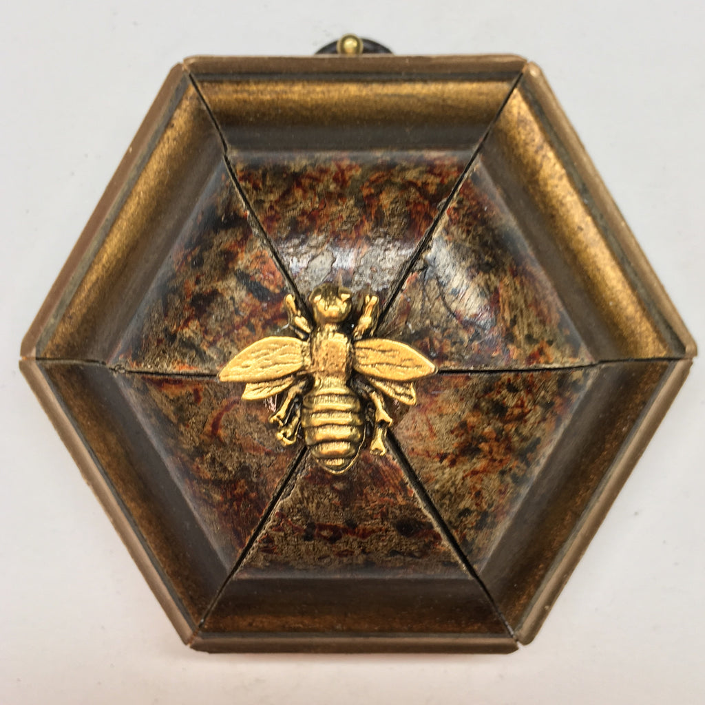 Painted Frame with Napoleonic Bee (3.5