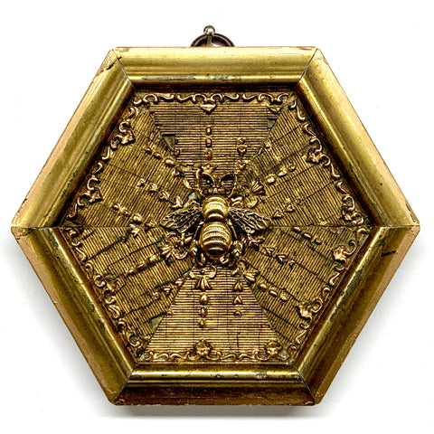 Gilt Frame with Grande Bee (4.5