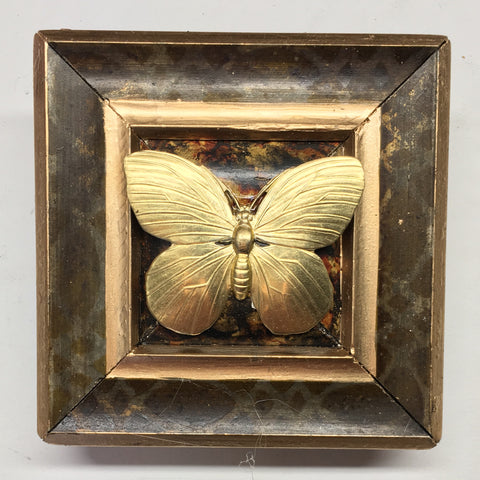 Gilt Frame with Butterfly (3.75