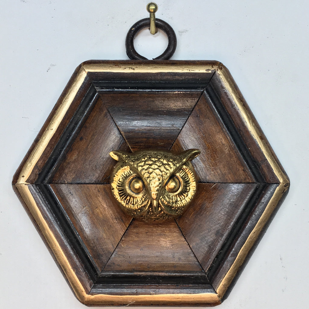 Wooden Frame with Owl (3
