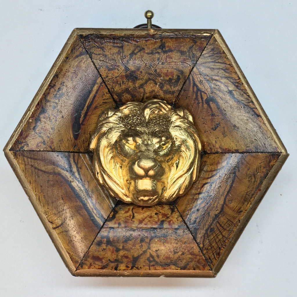 Marbled Frame with Lion (3.5